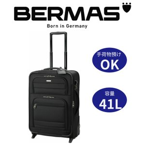 BERMAS バーマス ビジネスキャリー 41L スーツケース 手荷物預ける TSAロック搭載 丈夫 旅行鞄 キャリーバッグ トラベルバッグ ビジネス 出張|kurashikan