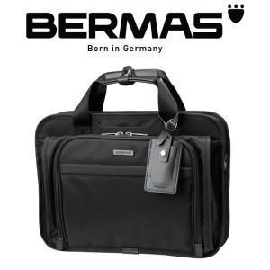 BERMAS バーマス ビジネスバッグ キャリーオン 39cm 1層 エキスパンダブル ブリーフケース ショルダーバッグ ビジネストート PCバッグ ショルダー付|kurashikan