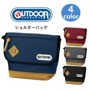 OUTDOOR PRODUCTS フラップショルダー メッセンジャーバッグ ワンショルダー 斜めがけバッグ バック カバン 鞄 人気 かわいい おしゃれ 軽量 ナイロン 男女兼用|kurashikan