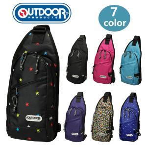 OUTDOOR PRODUCTS ボディバッグ ワンショルダー 斜めがけバッグ ショルダーバッグ バック カバン 鞄 人気 かわいい おしゃれ 軽量 ナイロン キッズ|kurashikan