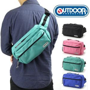 OUTDOOR PRODUCTS ボディバッグ ウエストバッグ 2wayバッグ ワンショルダー 斜めがけバッグ ボディバック 鞄 人気 かわいい おしゃれ 軽量 男女兼用|kurashikan
