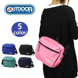 OUTDOOR PRODUCTS 横型ショルダー 斜めがけバッグ ショルダーバック ワンショルダーパック バック カバン 鞄 人気 かわいい おしゃれ 軽量 男女兼用|kurashikan