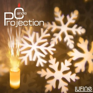 クリスマス プロジェクションライト 投影ランプ LEDキャンドルライト リモコン タイマー付き ゆらぎ 電池式 間接照明 おしゃれ 室内|kurashikan