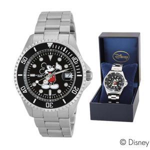 ディズニー ウォッチ 腕時計 ミッキーマウス 三つ折ベルト 時計ウォッチ 腕時計 男性用 メンズ カレンダー付き オシャレ プレゼント キャラクター グッズ|kurashikan