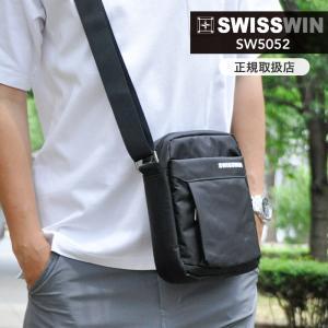 SWISSWIN ショルダーバッグ メンズ 斜めがけ 軽量  ビジネスバッグ 出張 メンズバッグ  メッセンジャーバッグ  通勤 鞄 防水|kurashikan
