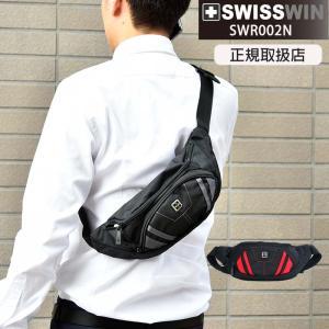 swisswin ウエストバッグ ボディバッグ メンズ おしゃれ 斜めがけバッグ アウトドア バイク 自転車 小さめ ヒップバック スイスウィン|kurashikan