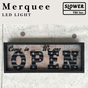 マーキーライト オープン MERQUEE LIGHT OPEN LEDライト 置き型 壁掛け オープンサイン インテリア 英字 プレゼント 贈り物 レストラン 看板|kurashikan