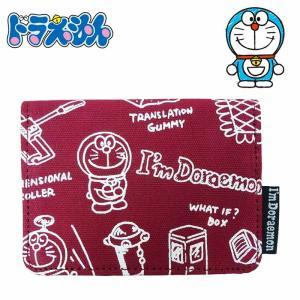 ドラえもん ヴィンテージシリーズ パスポーチ ソウガラ パスケース 定期入れ カードケース 小物入れ 雑貨 かわいい I'm Doraemon キャラクター グッズ|kurashikan