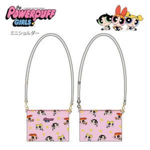パワーパフガールズ ミニショルダー ピンク ショルダーバッグ 斜めがけ サコッシュ ミニバッグ かばん 鞄 かわいい キャラクター グッズ|kurashikan