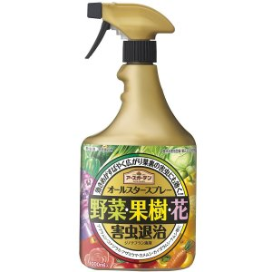 アース製薬株式会社 アースガーデン オールスタースプレー 1000ml×12本セット <野菜・果樹・花の害虫退治> (商品発送まで2-3週間程度かかります)|kurashino-mart