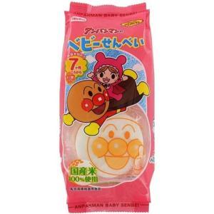 株式会社栗山米菓 アンパンマンのベビーせんべい(14枚入)×12個セット|kurashino-mart