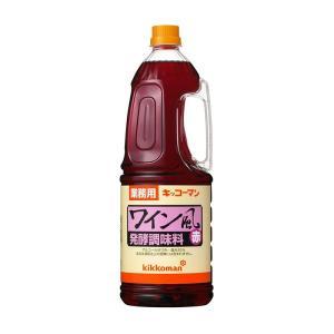キッコーマン食品株式会社 ワイン風発酵調味料 赤1.8Lハンディペット6個セット 【北海道・沖縄は別途送料必要】|kurashino-mart