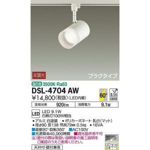 大光電機照明器具 スポットライト DSL-4704AW LED≪即日発送対応可能 在庫確認必要≫ kurashinoshoumei