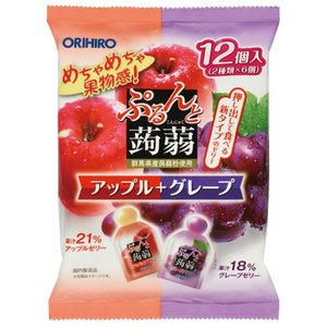 【安心安全ゼリー】めちゃめちゃ果物感! 1袋で2つの味が楽しめてとってもお得! 1)新形態のぷるぷる...
