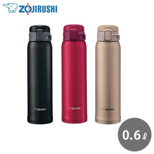 象印 ステンレスマグ SM-SE60 600ml ワンタッチ 保温 保冷 水筒 魔法瓶 軽量 直飲み ステンレスボトル シンプル おしゃれ かわいい ラッピング無料|kurashiya
