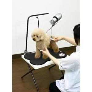 ペット用 グルーミングテーブル  PGT-40 トリミングテーブル トリミング台 小型犬用 Cupet キューペット エムケー 同梱不可|kurashiya