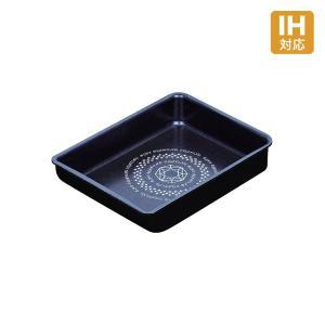 ルクスパン ブルーダイヤモンドコート IH対応玉子焼 13x18cm HB-2439|kurashiya