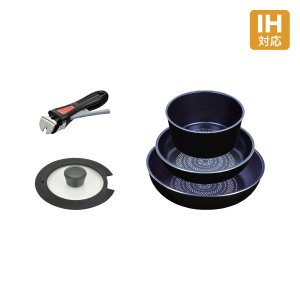 くらし屋オリジナルセット ルクスパン オリジナル5点セット  フライパン 鍋 セット IH対応|kurashiya