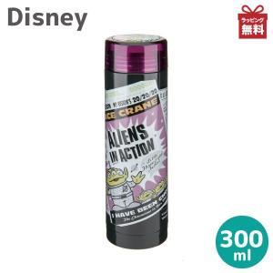 ディズニー 水筒 ステンレスボトル トイストーリー スリムパーソナルボトル 300ml MA-2131 エイリアンズ・ブラック|kurashiya