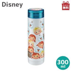 ディズニー 水筒 ステンレスボトル ツムツム/アナと雪の女王 スリムパーソナルボトル 300ml MA-2139|kurashiya