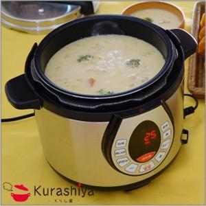 電気圧力鍋 ワンダーシェフ 家庭用 GEDA40 4.0L kurashiya 06