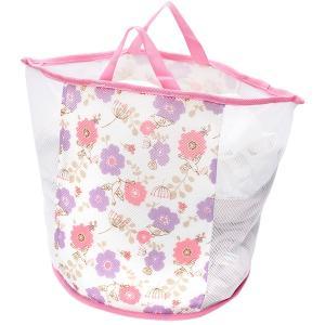 【商品情報】●ランドリーバッグ、洗濯ネット、洗濯かごの 3つが1つになった便利なネットです。●厚手の...