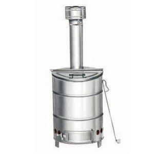 三和式ベンチレーター 家庭用焼却炉 ステンレス焼却炉(60型) SANWA-60