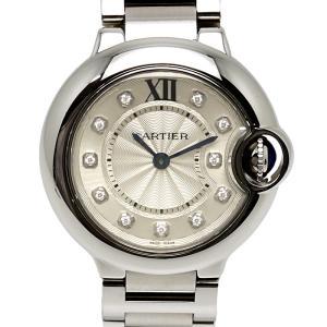 【送料無料】カルティエ Cartier バロンブルーSM WE902073 レディース クォーツ 11Pダイヤ 内箱・保証書付き【0A0029】|kurata7