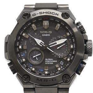 【送料無料】カシオ CASIO Gショック MR-G MRG-G1000B-1AJR 黒 GPSソーラー 耐衝撃フルメタルボディ 箱・保証書・説明書付【0A0207】|kurata7