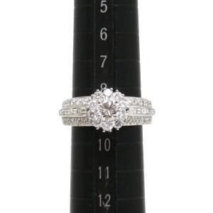【送料無料】ヴァンクリーフ VCA ダイヤモンドリング #49 9号  WG・センターダイヤ0.485ct 美品 【4SB0552】 kurata7 06