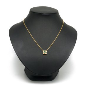【送料無料】ヴァンクリーフ&アーペル トレフルネックレス 750YG・エメラルド0.39ct・ダイヤモンド0.38ct 四つ葉 【7B1079】 kurata7 05