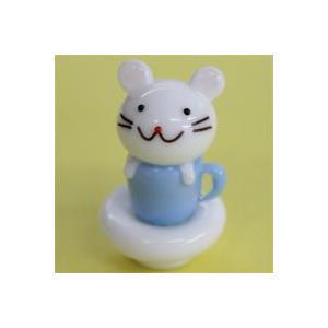 ガラス細工 カップインマウス    クリアジェルキャンドル|kuraudo