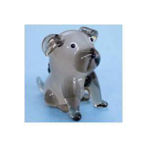 ガラス細工 犬(パグ)    クリアジェルキャンドル|kuraudo
