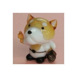 ガラス細工 野球犬(2)    クリアジェルキャンドル|kuraudo