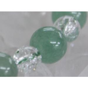 【視力回復】繁栄の石 グリーンアベンチュリン8mm(内径14〜20cm) ブレスレット【5月誕生石】/パワーストーン/天然石|kuraudo