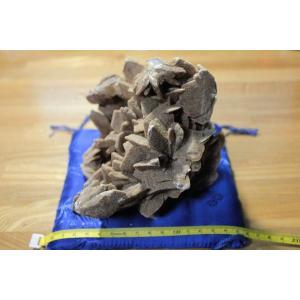 願望成就の天然石 パワーストーン デザートローズ(別名:サンドローズ)原石 座布団台座付き/パワーストーン/天然石|kuraudo|04