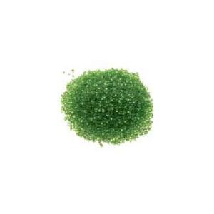 G-04 クリアキャンドル オプション クリスタルグラスサンド-グリーン  30g    クリアジェルキャンドル|kuraudo