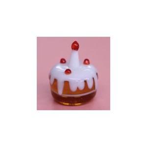 I-4 クリアキャンドル用 ガラス細工 バースデーケーキ    クリアジェルキャンドル kuraudo