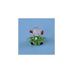 N-7 クリアキャンドル用 ガラス細工 女の子G    クリアジェルキャンドル|kuraudo