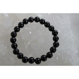 知性や理解力を高める宝石 オニキス8mm(内径14〜20cm) ブレスレット/パワーストーン/天然石|kuraudo|02