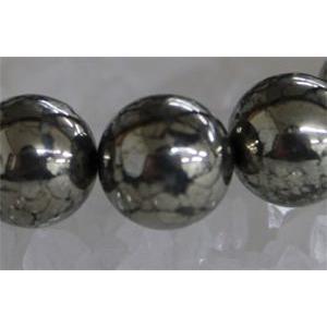 【目標達成】大地のパワー パイライト10mm(内径14〜20cm) ブレスレット/パワーストーン/天然石|kuraudo