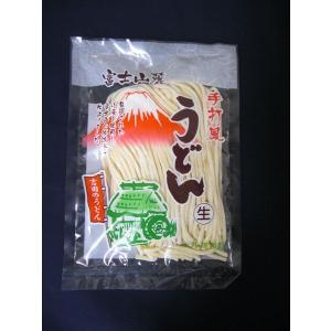 吉田うどん 富士山麓 手打ち風うどん 300g 約2人前  吉田のうどん|kuraudo