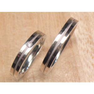 マリッジリング 結婚指輪 ペアリング PT 950