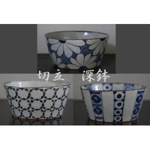 なめらかで程よい厚みのある砥部焼の切立鉢です。 幅広い層の方に好まれるシンプルな絵柄は贈り物にも喜ば...