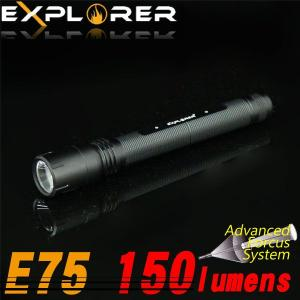 LED 懐中電灯 ハンディライト 単3電池 150lm アウトドア キャンプ 防災 通勤 通学 防犯|kurayashiki