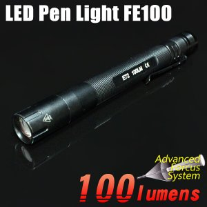 LED 懐中電灯 ハンディライト ペンライト 単4電池 100lm アウトドア キャンプ 防災 通勤 通学 防犯|kurayashiki