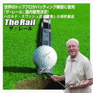 〈送料無料〉ザ・レール‐ゴルフ練習用 パター練習器具 まっすぐ打つ 自宅 会社 ラウンド前 ゴルフ用品 The Rail ナウテック|kurazo