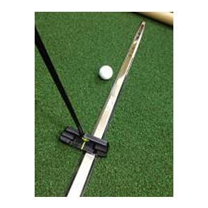 〈送料無料〉ザ・レール‐ゴルフ練習用 パター練習器具 まっすぐ打つ 自宅 会社 ラウンド前 ゴルフ用品 The Rail ナウテック|kurazo|03