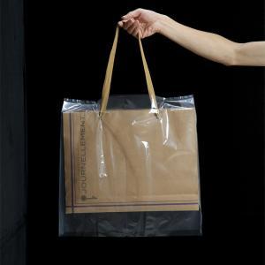 バッグ 雨 雪 カバー 大(H45×W45×D10cm)30枚組-レインバッグカバー 使い捨て 携帯カバー 透明 日本製 kurazo 05