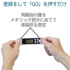 ミムゴ スティック型体脂肪計 MG-BFM10F-体脂肪率 肥満タイプ 電池式 簡単計測 持ち運び コンパクト|kurazo|03